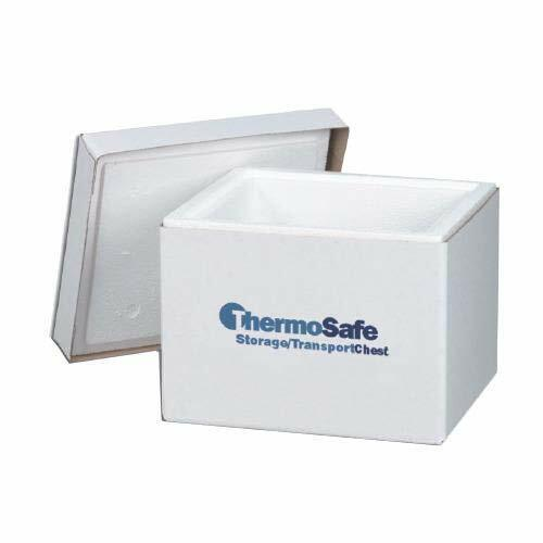 ThermoSafe 307 Storage and Transport Chest Container with Fiberboard Case