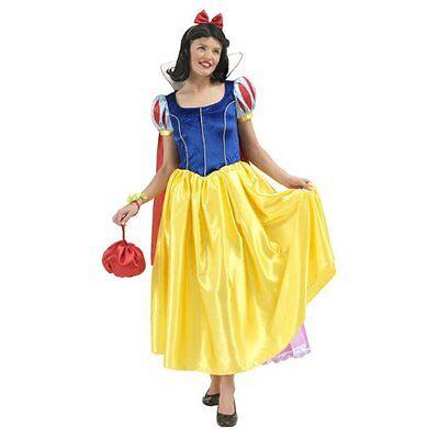 RUB 3888588 Disney Deluxe Damen Kostüm Snow White Schneewittchen - Damen Schneewittchen Kostüm Deluxe