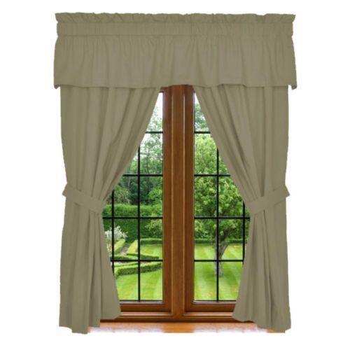Green Curtain Tie Backs