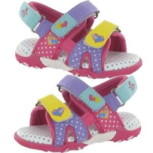 Summer-Sandals-Girls-Infants-New-Baby-Toddlers-Walking-Velcro-Beach-Shoes-Size