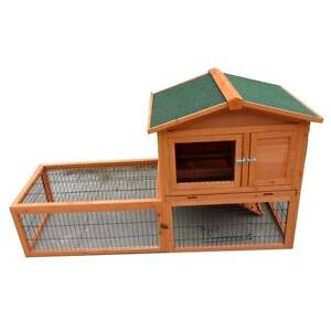 Large Double Story Rabbit House Chook Hutch Cage w EXTENSION RUN Keysborough Greater Dandenong Preview