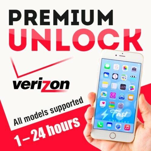 VERIZON USA IPHONE FACTORY UNLOCK SERVICE 11Pro Max 11Pro 11 XS XS Max XR X 8 7 - $8.99