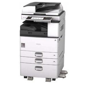 Lease 2 Own Only $59/mon -Ricoh Monochrome Multifunction Copier MP 3353  Photocopier 11x17 Copy Print Scan Scan to Email