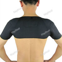 Self heating pad for shoulder area