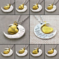 I love you to the moon and back Necklaces for sale!