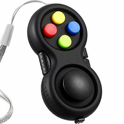 Fidget Pad Fidget Controller Stress Reducer Game Fidget Controller Black Stress