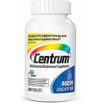 Centrum Men's Multivitamin Tabs - 200 Ct