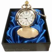 Gold Pocket Watch Chain