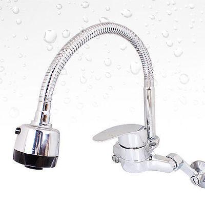 COBRA Kitchen Sink Faucet Standard Design Swivel Spout Rubber Packing Black i/_c