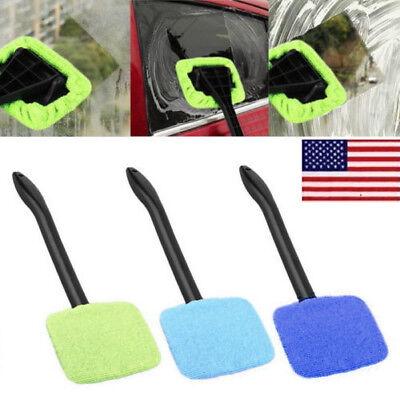 Microfiber Windshield Clean Auto Car Wiper Cleaner Glass Window Brush Tool - Auto Brush