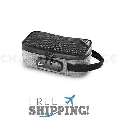 Skunk Sidekick Smell Proof Case w/ Combo Lock - Gray