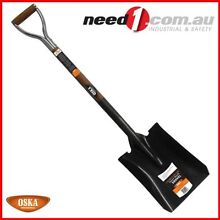 OSKA STAINLESS STEEL GARDEN SHOVEL CHROME PLATED GRIP  ASH WOOD Chipping Norton Liverpool Area Preview