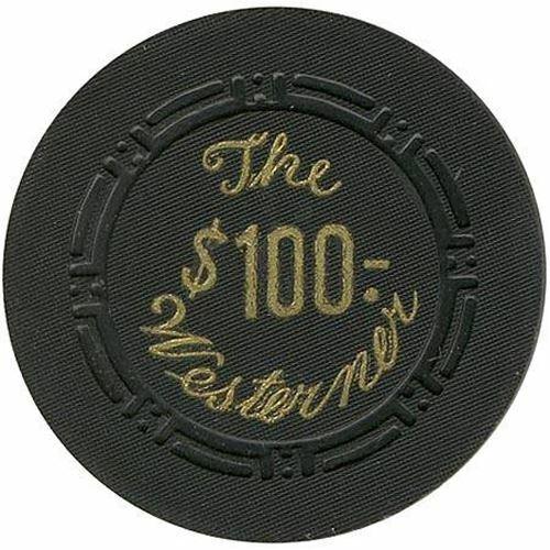 The Westerner Casino Las Vegas NV $100 Chip 1951