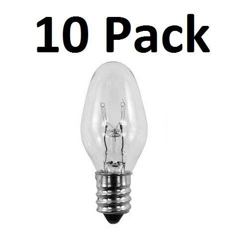 Bulbs 15 watt for Scentsy Wax Warmer Light Bulb 10 Pack Plug In Warmers