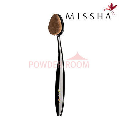 MISSHA Professional Oval Make up Brush Foundation Face Concealer Cover 2016 new