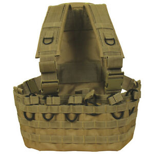 Tactical-Military-Commando-Chest-Rig-Mag-Carrier-Hydro-Pack-DESERT-TAN