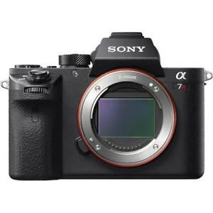 Sony A7R II body in perfect conditin in original box with all supplied accessories.
