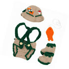 Fisherman Crocheted Baby Hats