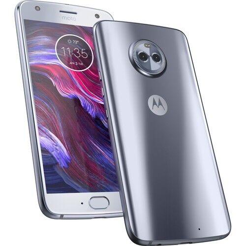 Motorola Moto X4 X4thGen XT1900-1 32GB Factory Unlocked sterling blue CDMA + GSM