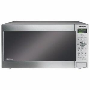 50% OFF Panasonic 1.6 Cu.Ft. Microwave NNSD773S Stainless Steel