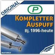 Audi A3 8L Auspuffanlage