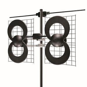 Antennas Direct - ClearStream 4V Antenna - Black/Silver (C4-V-CJM)
