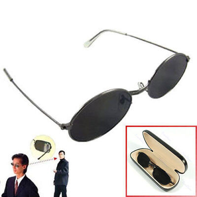 Anti-tracking Sunglasses Rearview Spy Glasses Behind View Mirror (Mirror Spy Glasses)