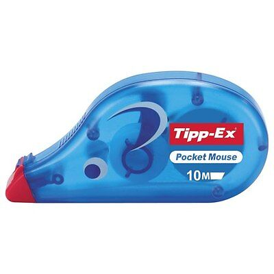 **BOX 0F 10** GENUINE TIPPEX POCKET MOUSE 4.2mmx10m**FAST POSTAGE**