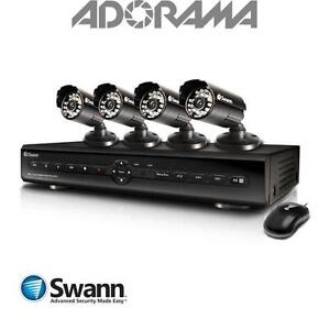 Swann Home Security Camera System Motion Detection