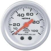 Oil Pressure Gauge Mechanical