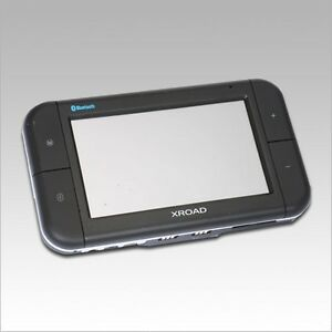 """Xroad V4150 GPS - 4.3"""" Touch Screen, MP3/MP4 Player,"""