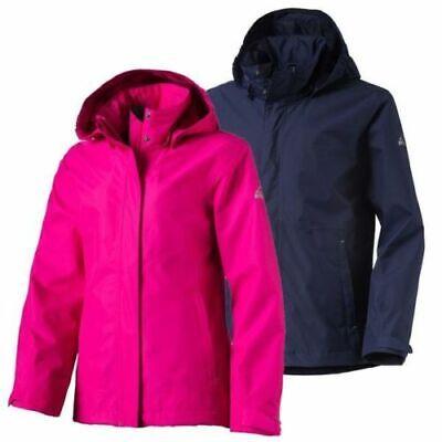 McKinley Kinder Mädchen Jungen Outdoor Jacke Donnelly 10.000 WS Aquamax Premium  - Premium Atmungsaktive Jacke