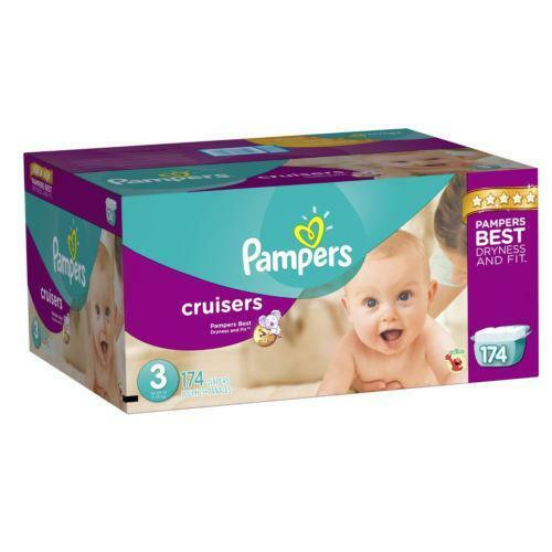 Pampers Size 7: Disposable Diapers | eBay