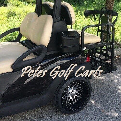 Golf Cart Golf Bag Holder Universal Bracket Attachment For Rear Seat Kits