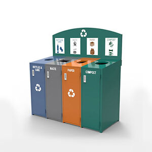 Metal Recycling bins for SALE