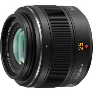 Panasonic Leica 25mm f/1.4 - Beautiful Lens in Mint Condition