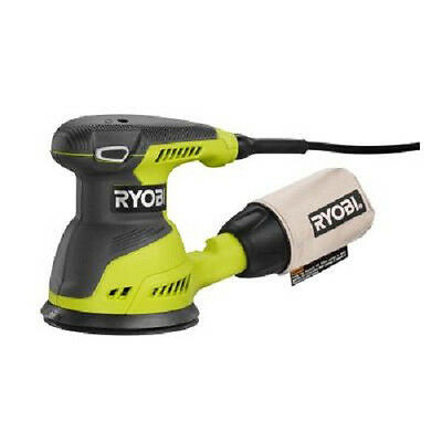 "Ryobi 2.6 Amp 5"" Random Orbit Sander (Green) RS290G Reconditioned"