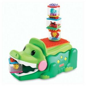 Fisher Price - Peek-a-Blocks - Stack & Smile Crocodile