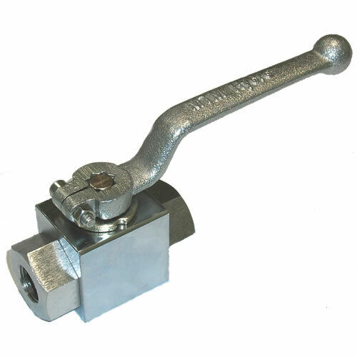 "MTM Hydro 1/2"" F Chrome Plated Steel Ball Valve"
