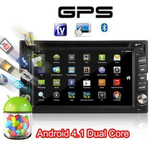 android 2 din car dvd stereo player ebay. Black Bedroom Furniture Sets. Home Design Ideas