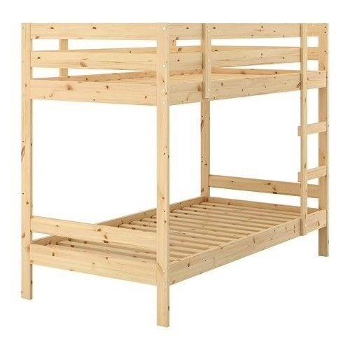 Ikea Mydal Bunk Bed Frame Kura Bed Tent Single Mattresses Sold