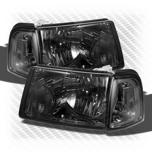 Ford Ranger Smoked Headlights Ebay
