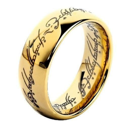 lord of the rings wedding band ebay - Lord Of The Rings Wedding Rings