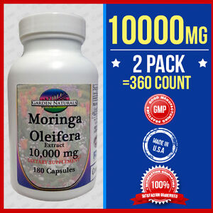 ... -Oleifera-Extract-10-000mg-360-Caps-Herb-Anti-Aging-More-Benefits