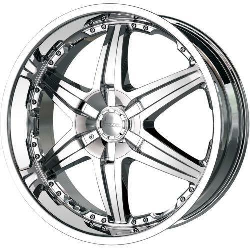 20 Chrome Rims Cadillac