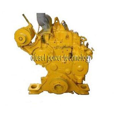 Caterpillar 3304 Remanufactured Diesel Engine Extended Long Block
