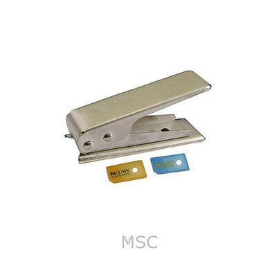 NANO SIM CARD CUTTER + 2 ADAPTER FOR iPHONE 5