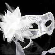 White Masquerade Masks