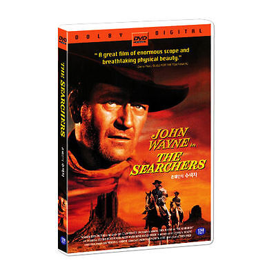The Searchers (1956) John Wayne, Jeffrey Hunter DVD *NEW