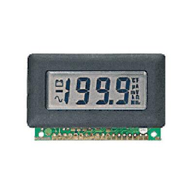 Lascar Dpm 600 3 12-digit Lcd Panel Voltmeter W200 Mv Dc Ann